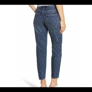 NWT Current/Elliott Cropped Slim Jeans Size 25